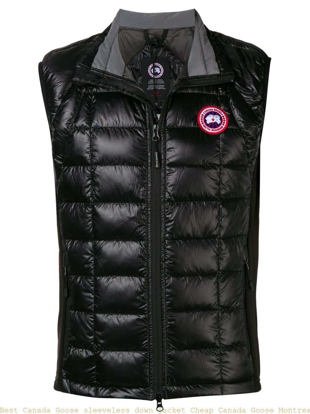 Best Canada Goose sleeveless down jacket Cheap Canada Goose Montreal  13168924 af7252c68