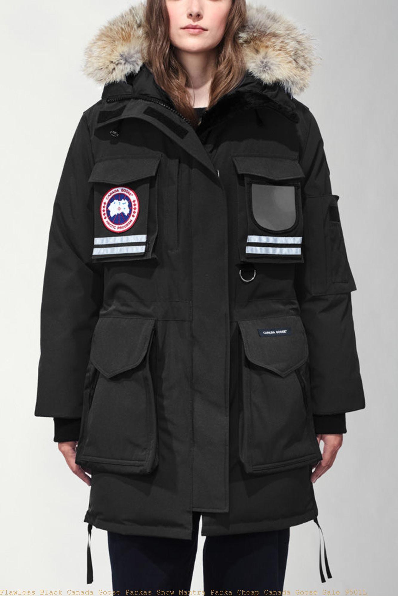 Snow Mantra Parka : Canada Goose Outlet, Canada Goose Black