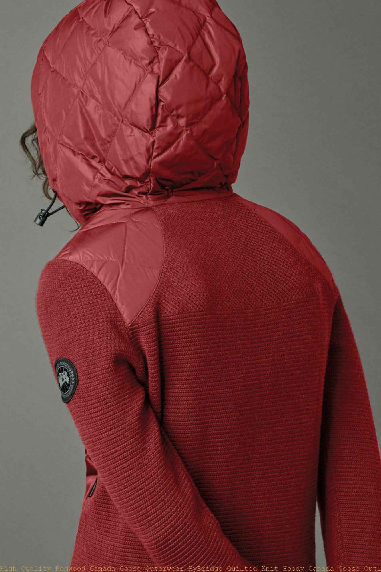 High Quality Redwood Canada Goose Outerwear HyBridge Quilted Knit Hoody Canada  Goose Outlet New York City 6900L – Canada Goose Outlet Sale: Best Cheap Canada  Goose Jackets