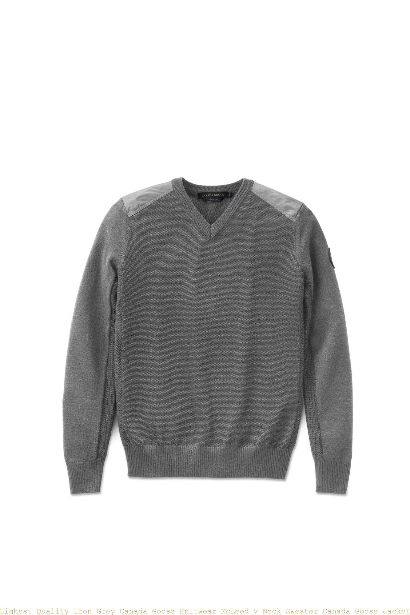 https://www.cagoosestores.ca/wp-content/uploads/2019/01/Highest-Quality-Iron-Grey-Canada-Goose-Knitwear-McLeod-V-Neck-Sweater-Canada-Goose-Jacket-Black-Friday-Sale-Uk-6965M-3.jpg