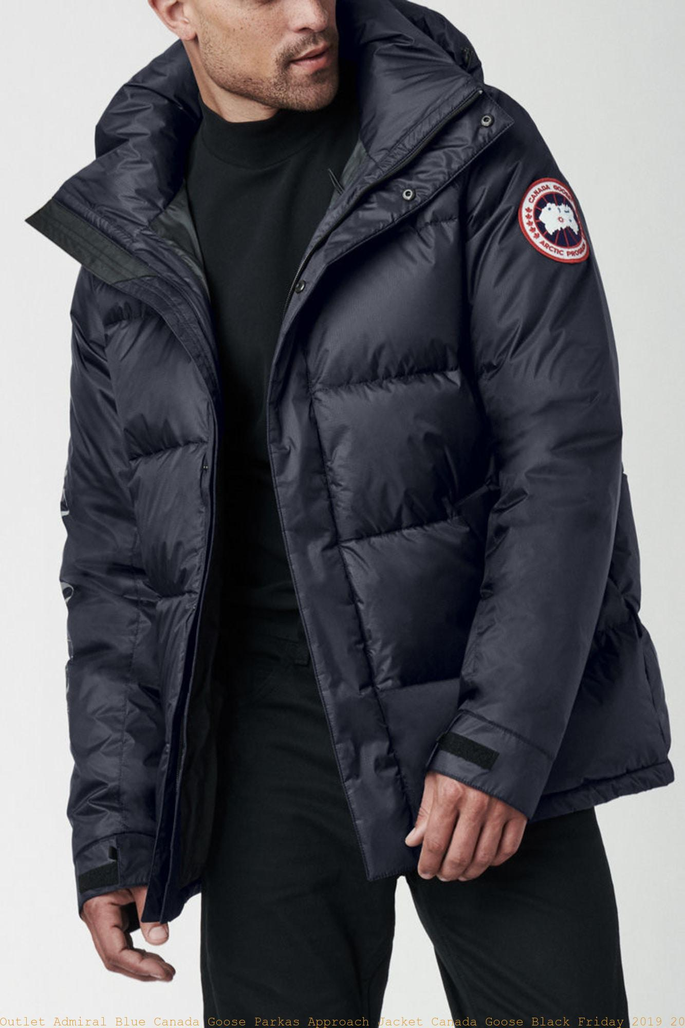 Outlet Admiral Blue Canada Goose Parkas Approach Jacket ...